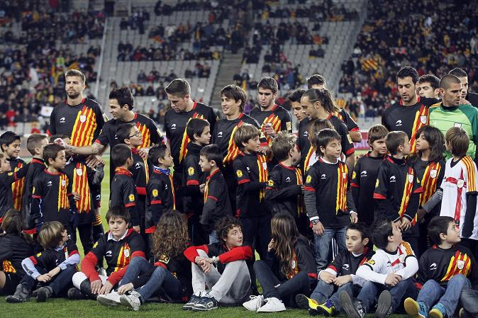 catalan national team photo