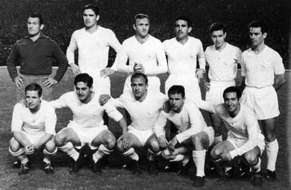 Real Madrid 1950s retro jersey