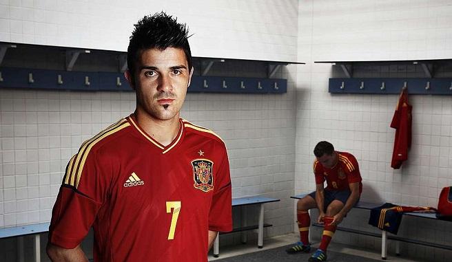 David Villa Spanien