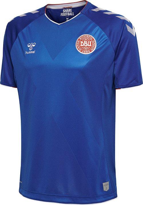 Denmark goalie jersey World Cup 2018 - blue-XXL