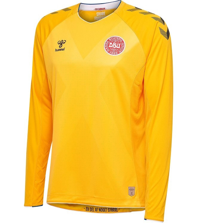 Image of   Denmark goalie jersey L/S 2018/19 - youth-152