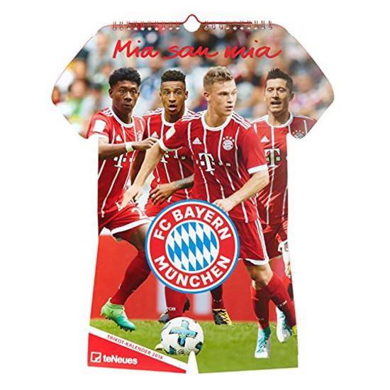 FC Bayern Trikot calendar 2018-one-size