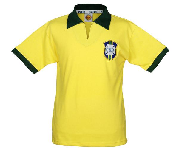 Brasilien retrotrøje - VM 1958-XL