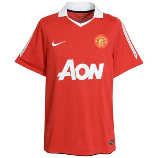 Image of   Manchester United hjemme trøje 2010/11 - børn-YXL | 158-170