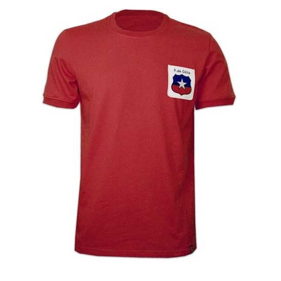 Image of   Copa Chile WC 1974 Short Sleeve Retro Shirt-XL | 56-58