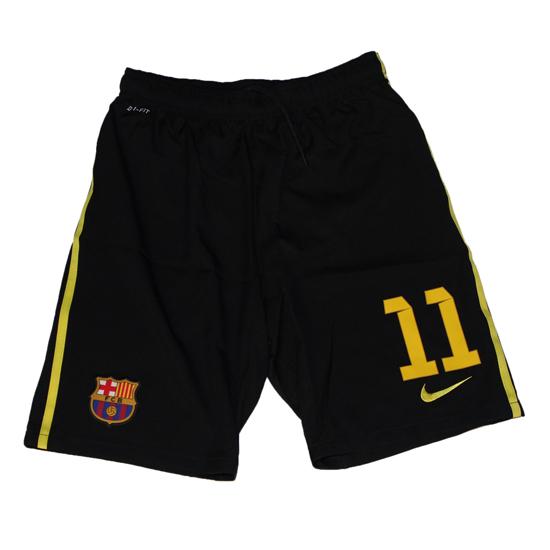 Image of   Barcelona 3rd shorts boys - number 11-YXL | 158-170
