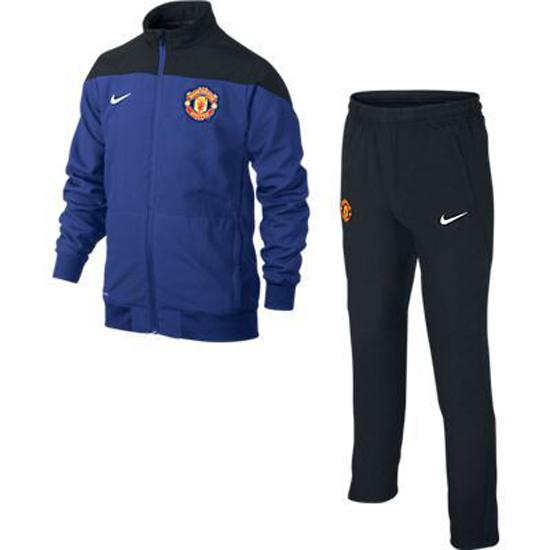 Image of   Manchester United træningsdragt 2013/14 - børn - sort-YXL | 158-170