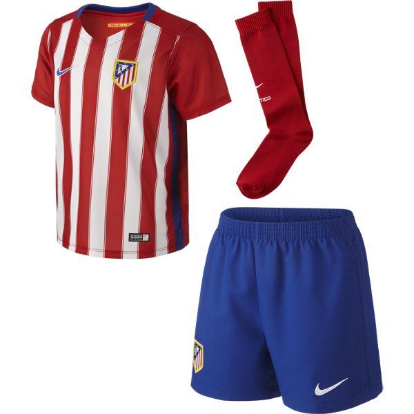 Image of   Atletico Madrid hjemme minisæt 2015/16 - små drenge-S