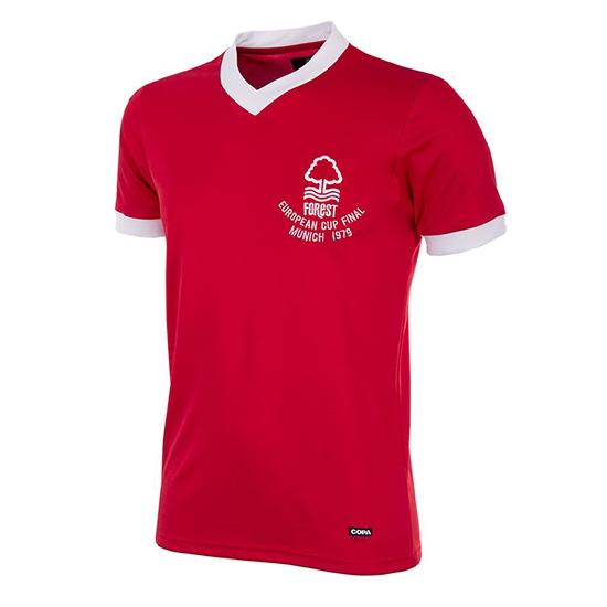 Nott Forest 1979 European Cup Final Retro Shirt-Extra Large