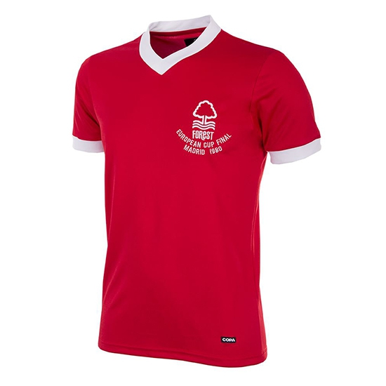 Nottingham Forest 1980 Euro Cup Final Retro Shirt-Small