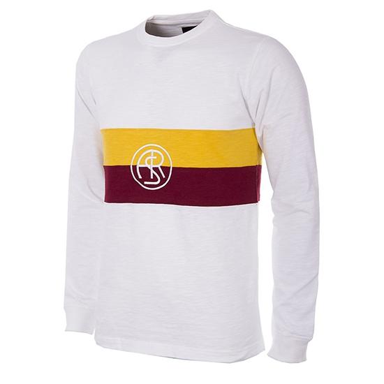 Image of   AS Roma 1944 - 45 Long Sleeve Retro Football Shirt-2 Extra Large