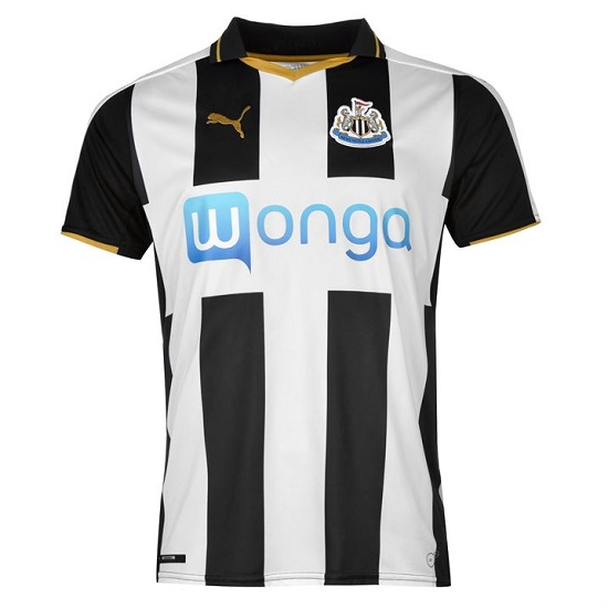 Image of   Newcastle home jersey 2016/17-L