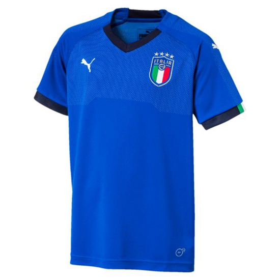 Image of   Italy home jersey 2018 - youth-140 | YM