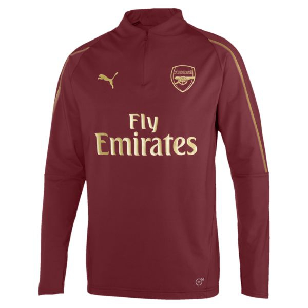Image of   Arsenal 1/4 zip top 2018/19-L