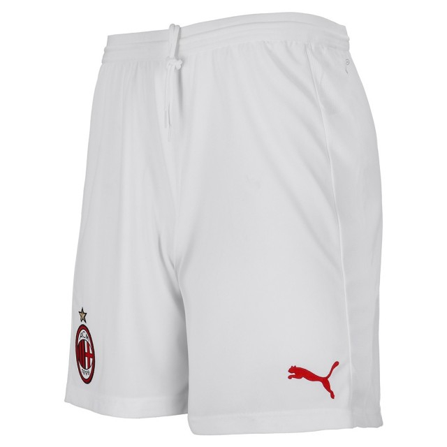 Image of   AC Milan home shorts 2018/19 - white-M
