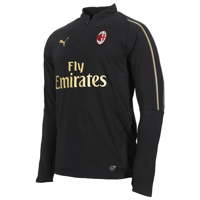 Image of   AC Milan 1/4 zip top 2018/19-L