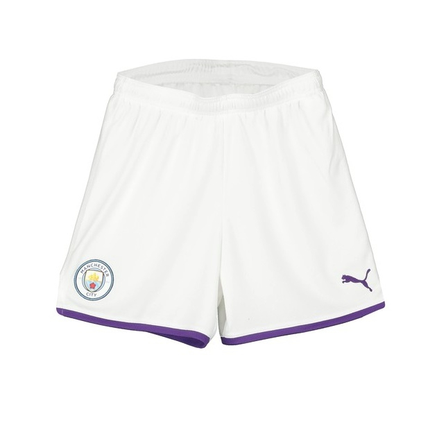 Image of Manchester City home shorts 2019/20 - youth-128