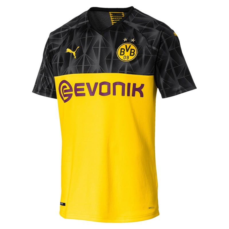 Image of Dortmund home jersey 2019/20 - Cup-L