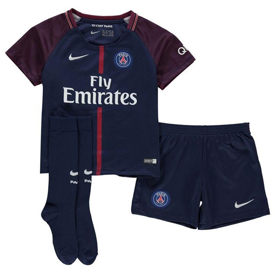 Paris SG home minikit 2017/18 - PSG-XS