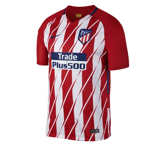 Image of   Atletico Madrid home jersey 2017/18 - youth-YM | 137-147