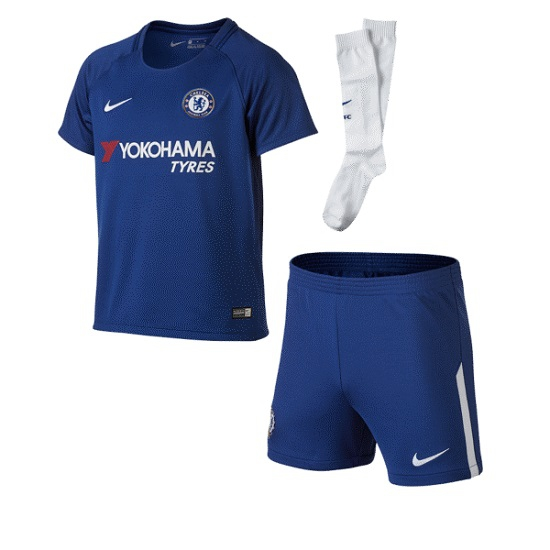 Chelsea home minikit 2017/18 - little boys-L