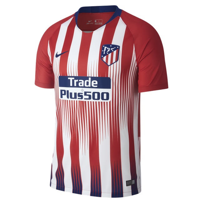 Image of   Atletico Madrid home jersey 2018/19 - mens-M