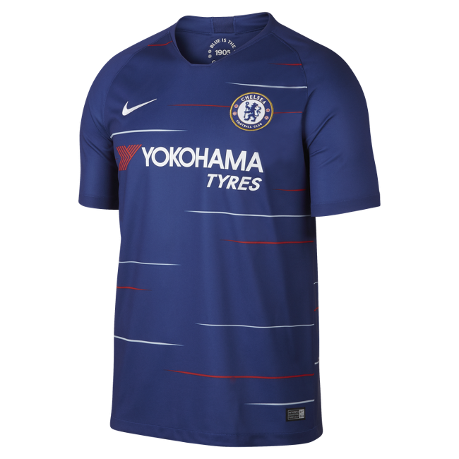 Image of Chelsea home jersey 2018/19-M