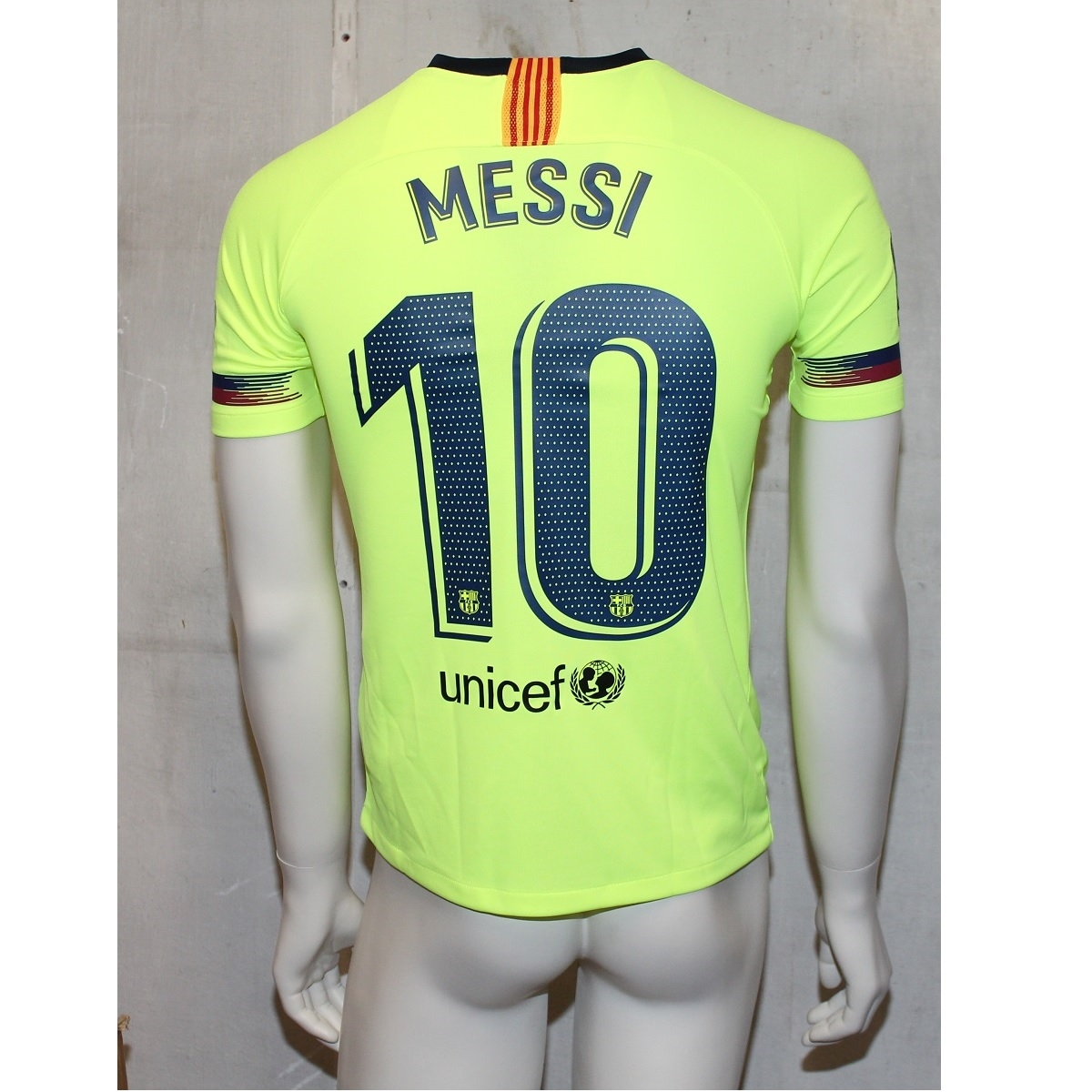 Image of   FC Barcelona away jersey 2018/19 - youth - Messi 10-YXL | 158-170
