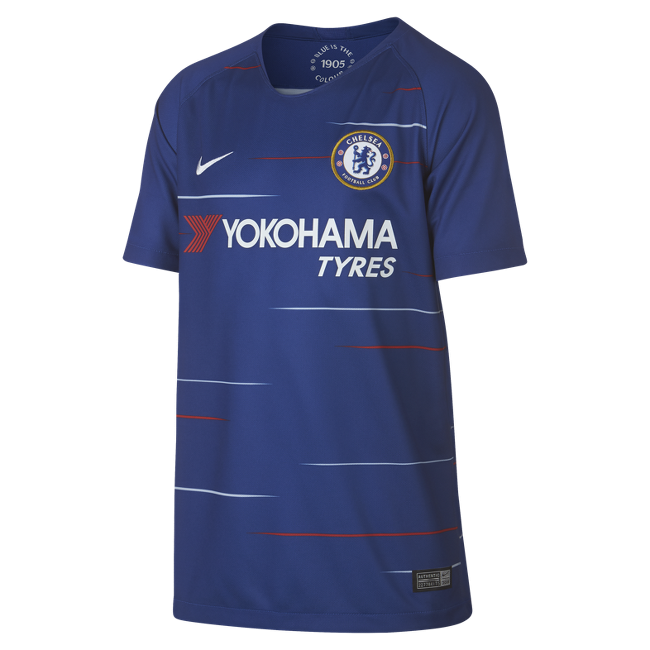 Image of Chelsea home jersey 2018/19 - youth-YM | 137-147