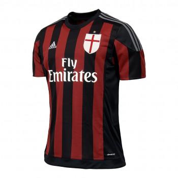 Image of   AC Milan hjemme trøje 2015/16 - børn-140