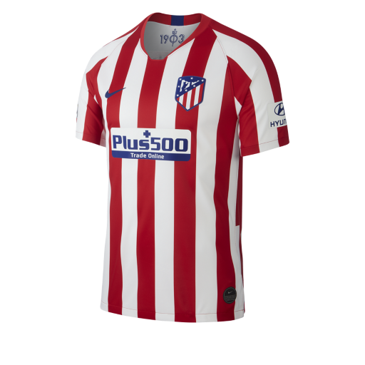 Image of Atletico Madrid home jersey 2019/20 - mens-L