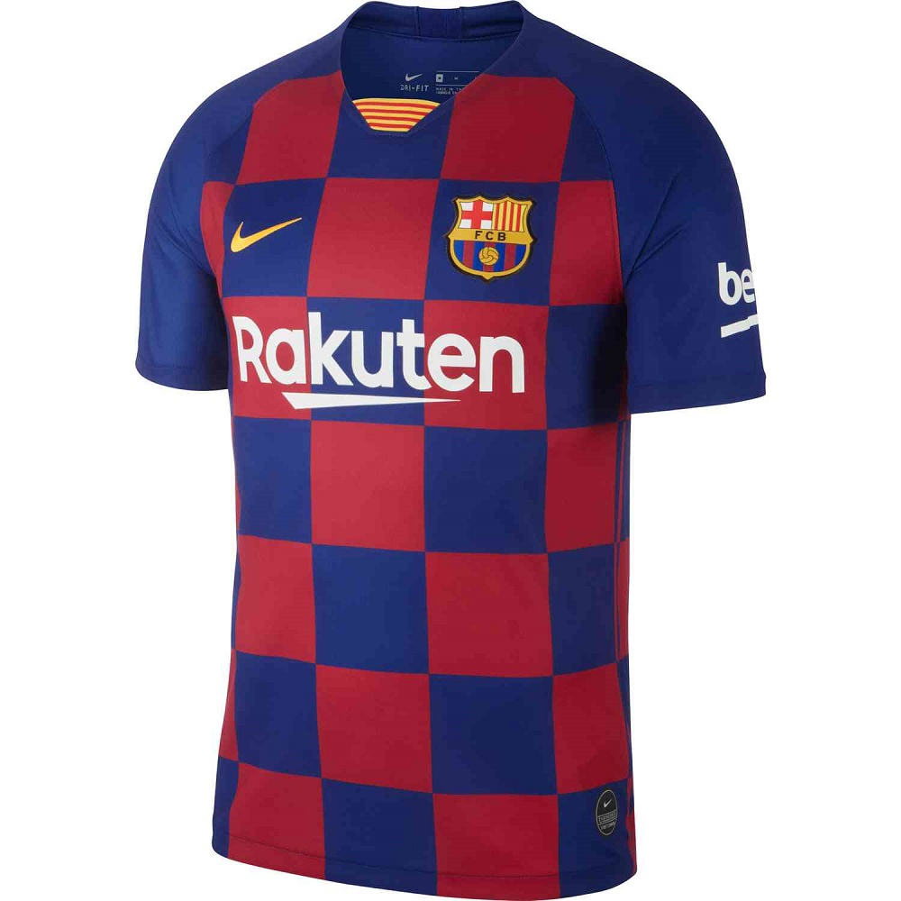Image of   FC Barcelona home jersey 2019/20 - mens-L