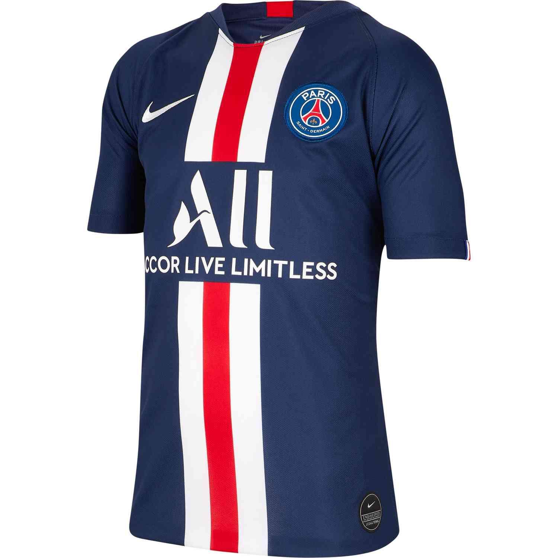 Billede af Nike, Paris SG home jersey 2019/20 - PSG youth-YL | 147-158
