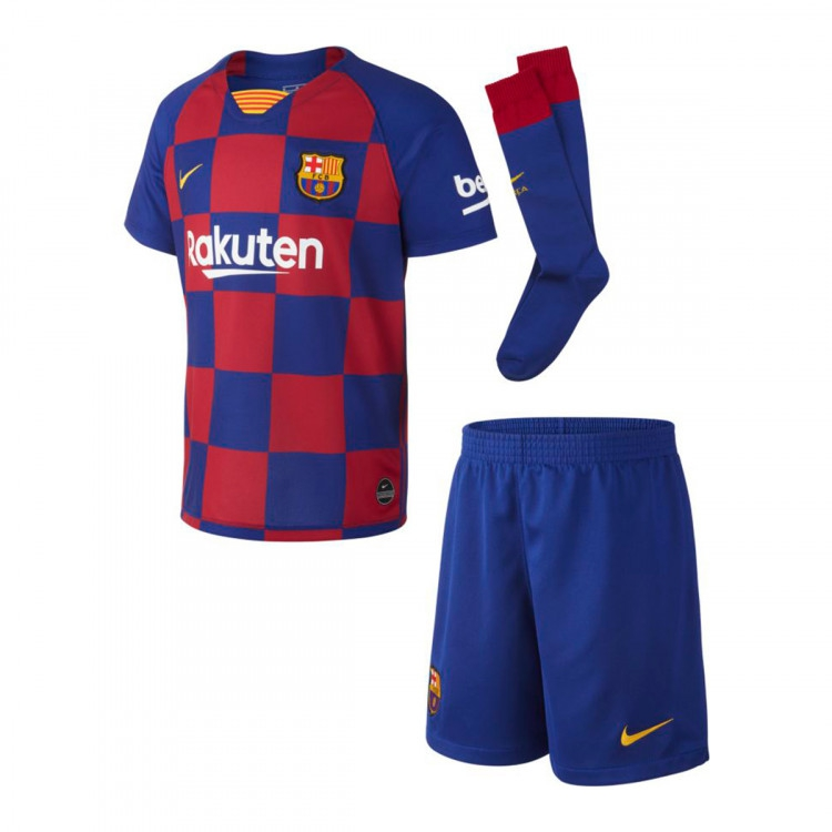 Image of   FC Barcelona home kit 2019/20 - infants-24-36 mdr | 92-98 cm