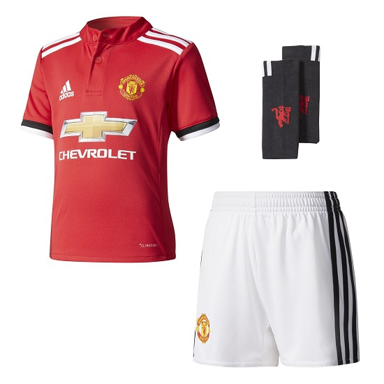 Image of   Manchester United home kit 2017/18 - little boys-92