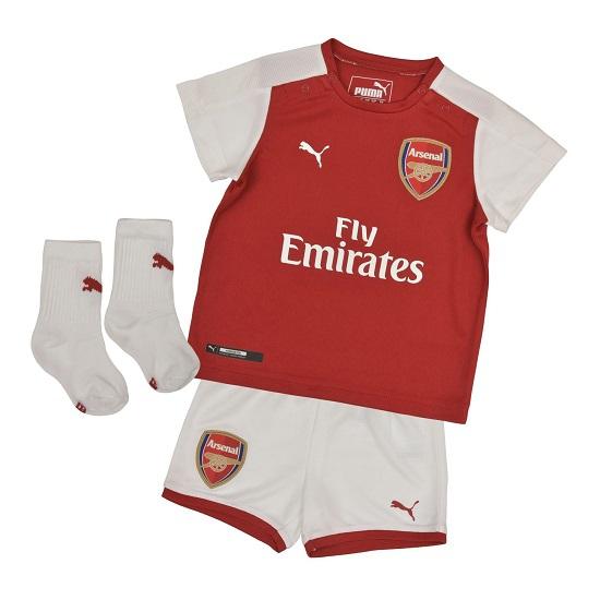 Image of   Arsenal home baby kit 2017/18-56