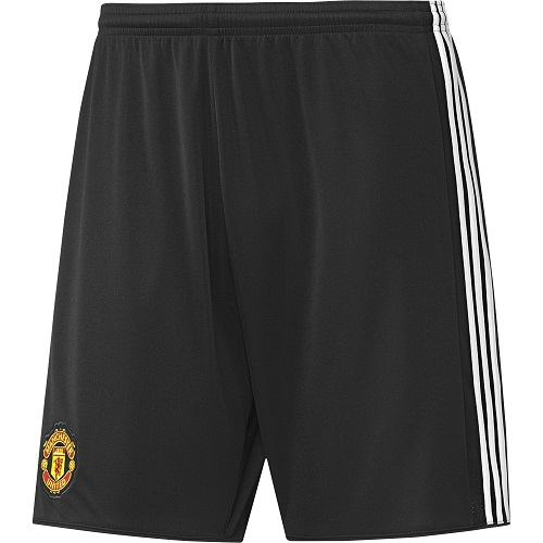 Image of   Manchester United home shorts 2017/18 - black-S