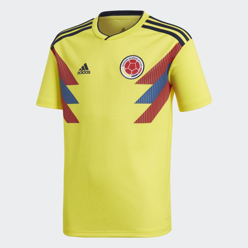 Image of   Colombia home jersey World Cup 2018 - youth-176
