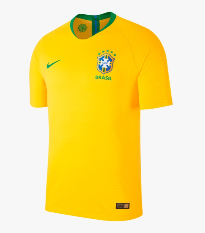 Image of Brazil home jersey World Cup 2018-L