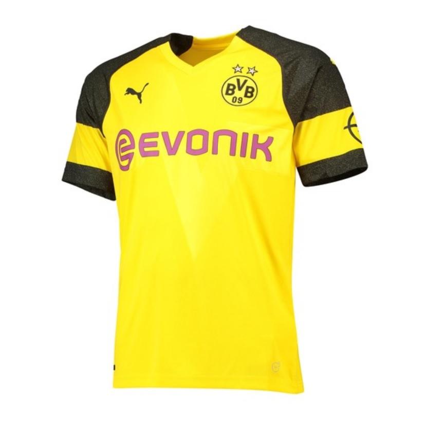 Image of   Dortmund home jersey 2018/19-M