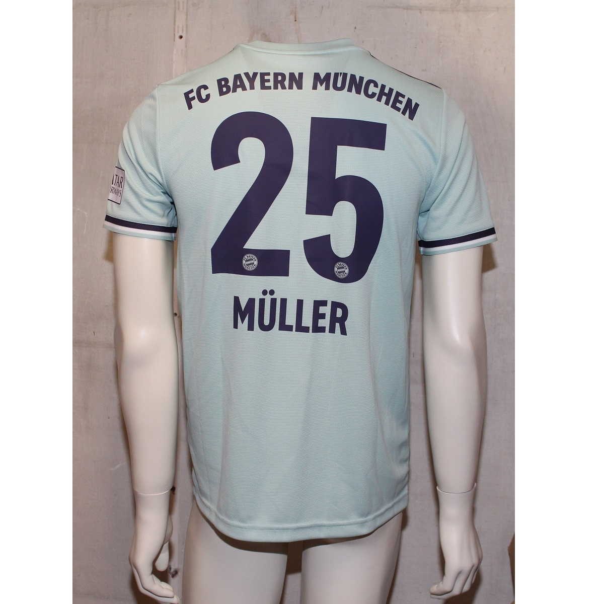 Image of   FC Bayern München away jersey 2018/19 - Muller 25-M