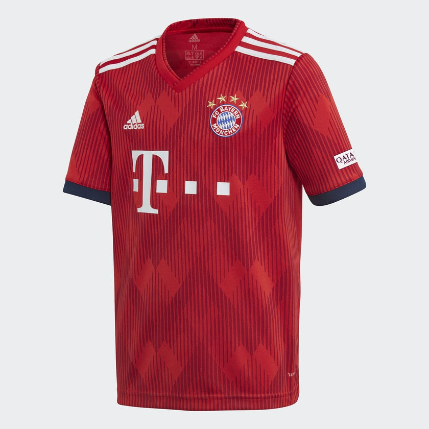 Image of   FC Bayern München home jersey 2018/19 - youth-128