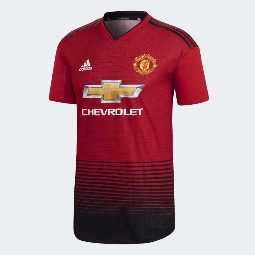 Image of   Manchester United home jersey authentic 2018/19-L