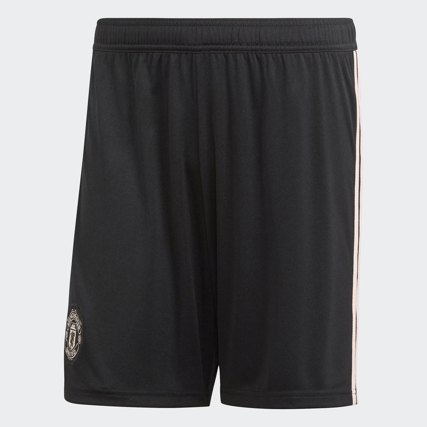 Image of Manchester United away shorts 2018/19 - black-L
