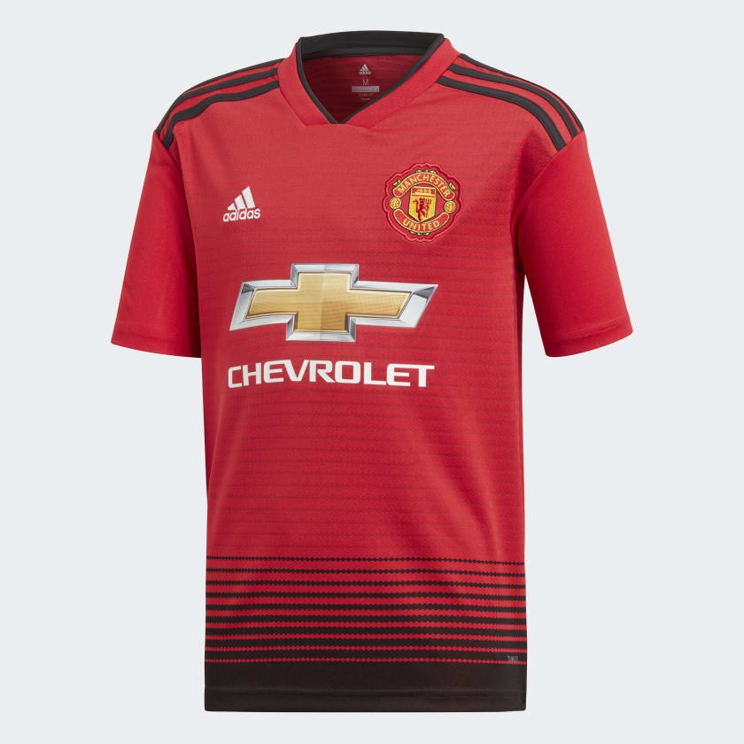 Image of   Manchester United home jersey 2018/19 - youth-176