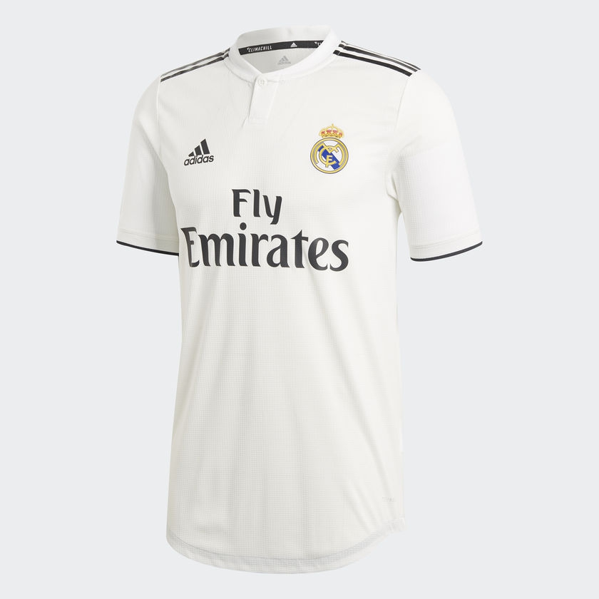 Image of   Real Madrid home jersey authentic 2018/19-L