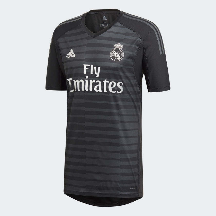 Image of 2018-2019 Real Madrid Adidas Home Goalkeeper Shirt-S