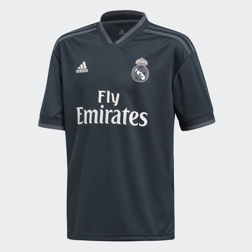 Image of   2018-2019 Real Madrid Adidas Away Shirt (Kids)-176