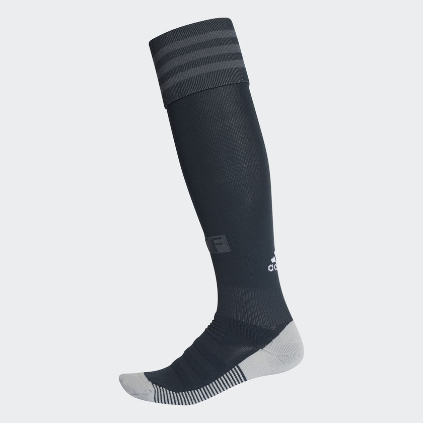 Image of   2018-2019 Real Madrid Adidas Away Socks (Grey)-4 | 43-45