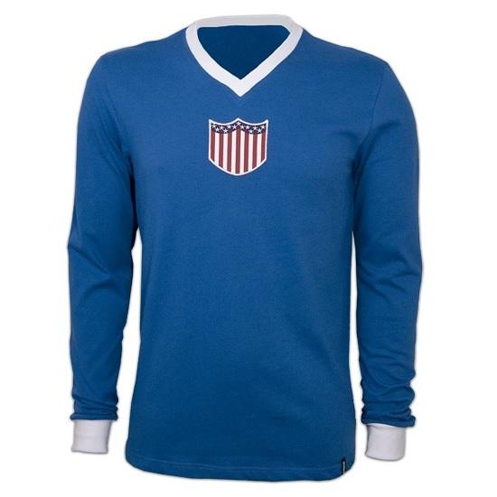 Copa Usa 1934  Long Sleeve Retro Shirt-M   50-52